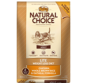 Nutro Natural Choice Dog Lite Chicken, Brown Rice & Oatmeal 15 Lb