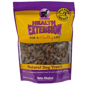 Vets Choice Professional Pet Products Health Extension Bone Shaped Dog Treats