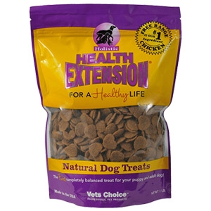 Vets Choice Professional Pet Products Health Extension Large Heart Dog Treat