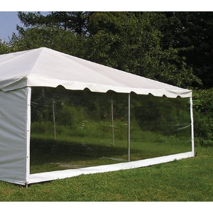 NTI Global, 7'x40' Clear Tent Side Walls