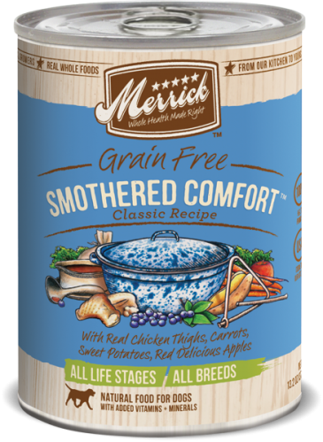 Merrick Smothered Comfort Can Dog  13.2 oz.