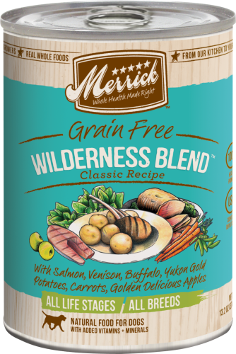 Merrick Wilderness Blend Can Dog  13.2 oz.