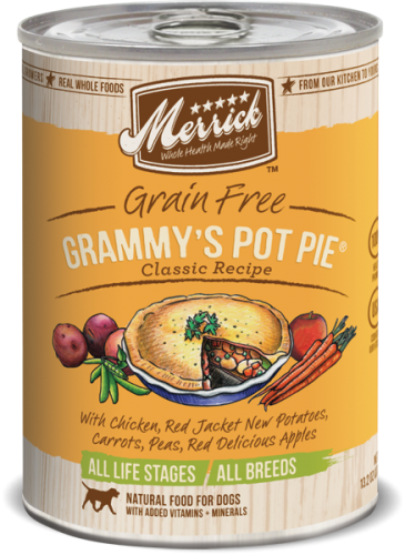 Merrick Grammy's Pot Pie Can Dog  13.2 oz.