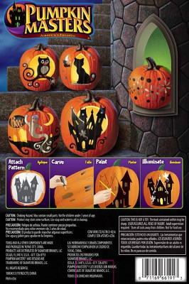 Pumpkin Masters Paint & Carve Kit