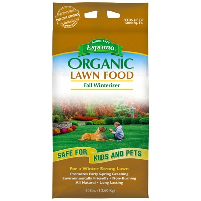 Fall Winterizer Organic Fall Lawn Food, 30 lbs.