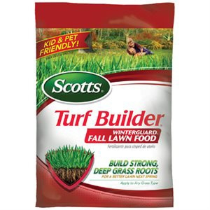 Scotts Turf Builder Winterguard Fertilizer Covers 5,000 Sq.Ft