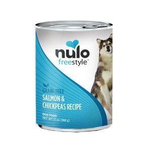 Nulo Freestyle Grain-Free Salmon & Chickpeas Canned Dog Food Recipe