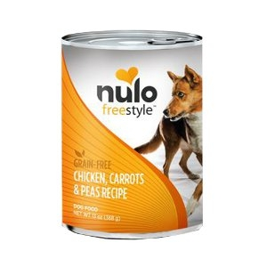 Nulo Freestyle Grain-Free Chicken, Carrots & Peas Canned Dog Food Recipe