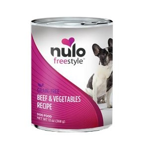 Nulo Freestyle Grain-Free Beef & Vegetables Canned Dog Food Recipe