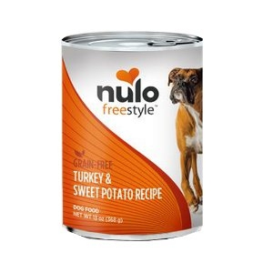 Nulo Freestyle Grain-Free Turkey & Sweet Potato Canned Dog Food Recipe