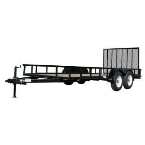 Carry On Trailer, 7X12GW2BRK 7000 lb. GVWR Heavy Duty Utility Trailer