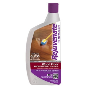 For Life Products, Rejuvenate 32Oz Wood Floor Professional Restorer With High Gloss Finish