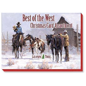 Best of the West 20Ct. Fine Art Christmas Card Assortment