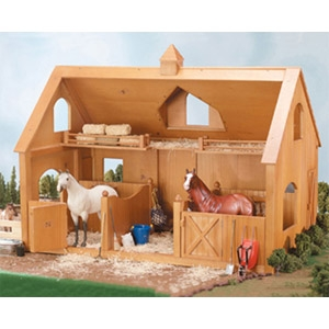 Breyer® Deluxe Two-Stall Wood Barn