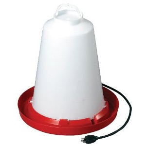 Allied Precision Heated 3 Gallon Poultry Waterers