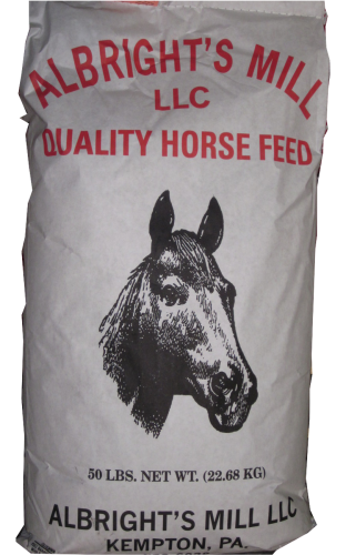 Albright's Mill LLC 12% Horse Feed