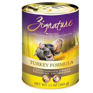 Zignature® Turkey Formula Wet Dog Food