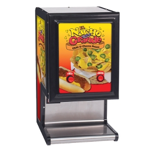 El Nacho Grande Dual Cheese and Chili Dispenser