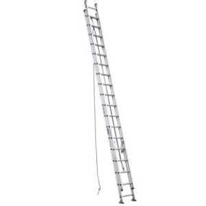Aluminum D-Rung Extension Ladder - 40 ft.