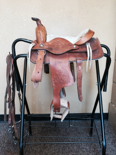 Saddle and Reins