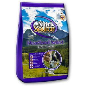Nutri Source Heartland Select Grain Free Dog Food