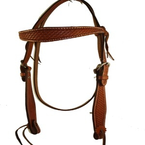 Billy Cook Working Tack Basket Headstall