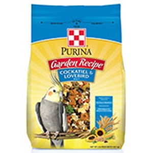 Purina Garden Recipe Cockatiel & Lovebird Diet