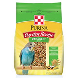 Purina Garden Recipe Parakeet Diet