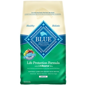Blue Buffalo Life Protection Formula Adult Lamb & Rice Dog Food 30 lbs