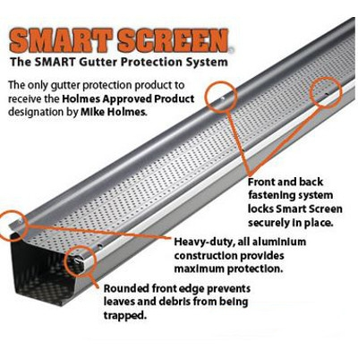 Gutter Protection Services, Smart Screen