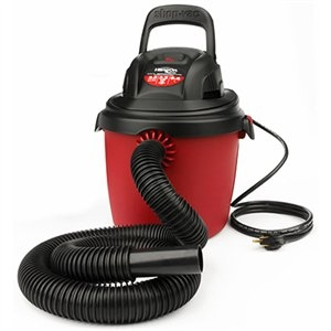 Shop-Vac, 2.5 Gallon Hang On Portable Wet/Dry Vacuum, 2 Peak HP