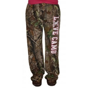 BuckedUp® Realtree® Camo Lounge Pants