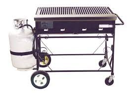 Propane Grill 2-foot by 3-foot