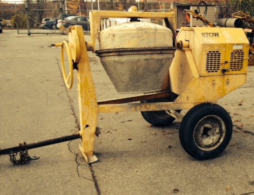 Tow-Behind Concrete Mixer