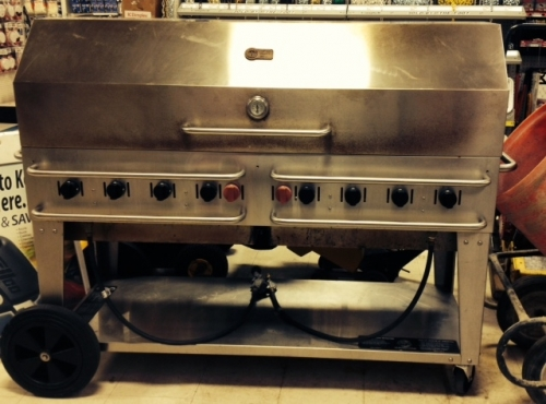 Gas Grill, 5'