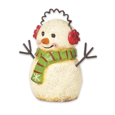 Magnet Works, Gypsy Garden Snowman with Earmuffs