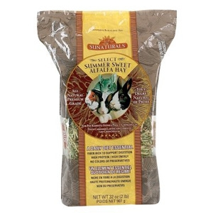 Sun Seed Company Sunnatural Select Summer Sweet Small Animal Alfalfa Hay