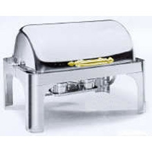 8-Quart Rectangular Roll-Top Chafer