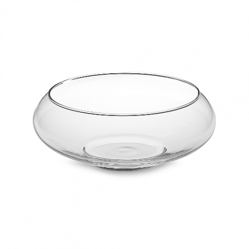 Centerpiece, glass bowl