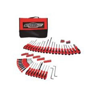 North American Tool 100-Pc. Speedway Screwdriver Set