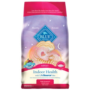 Blue Buffalo Indoor Health Salmon & Brown Rice Recipe For Adult Cats