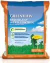 GreenView with GreenSmart Broadleaf Weed Control plus Lawn Food 27-0-4