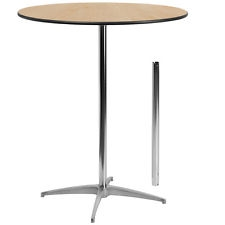 36 inch Round Table STANDING HEIGHT (cocktail height)