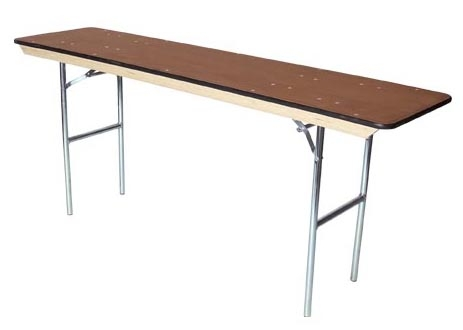 6' Conference Table  (only 18 inches wide)