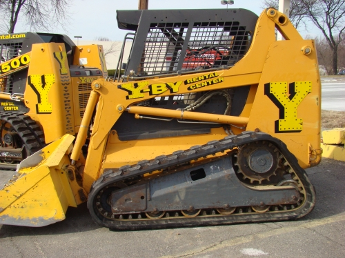 Loader, Skid Steer with Tracks 10,000#