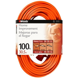 Coleman Cable® 100' Extension Cord