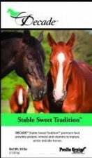 Poulin Grain DECADE® STABLE SWEET TRADITION™ Horse Feed