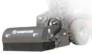 Attachment, Skid Steer, Sweeper