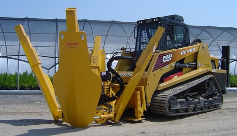 Attachment, Skid Steer, Tree Spade