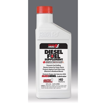 Power Service Diesel Fuel Supplement + Cetane Boost 16 Oz